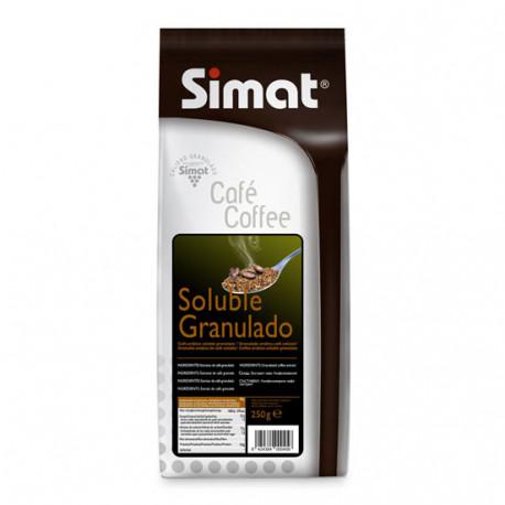 Café soluble granulado